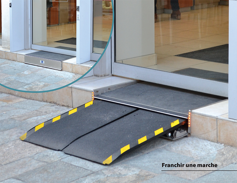 s2m rampe handicap automatique myd 39 l. Black Bedroom Furniture Sets. Home Design Ideas